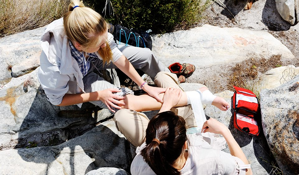 Provide First Aid in a Remote Location