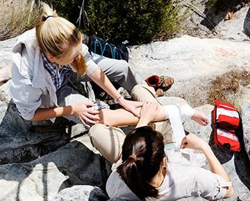 Provide First Aid Remote Location